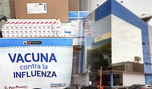 Mañana campaña de vacunación contra la influenza en la Esquina de la Televisión