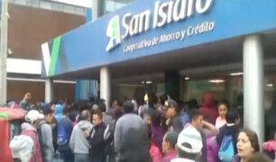 Ahorristas de cooperativa San Isidro retiran su dinero ante investigación por lavado de activos
