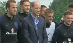 Monarcas de Inglaterra y España despidieron a sus selecciones que viajarán al Mundial
