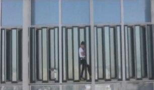 Corea del Sur: detienen a 'Spiderman francés' cuando escalaba rascacielos de 555 metros