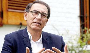 Presidente Vizcarra se pronuncia por muerte de policías en Huancavelica