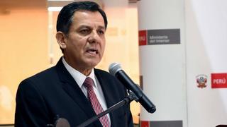 Presidente Vizcarra aceptó renuncia del ministro del Interior