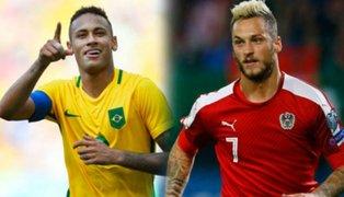 Brasil enfrenta a Austria en su último amistoso antes del Mundial