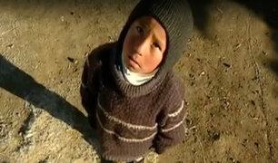 Esperanza en Puno: cientos de niños reciben ayuda por el friaje