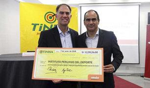 Videna: IPD recibe más de 12 millones de soles de lotería no cobrada