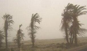 Vientos fuertes y oleajes afectarán desde hoy el litoral centro y sur del país