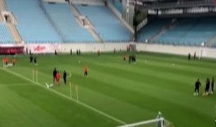 Selección peruana: así fue su primer entrenamiento en Moscú