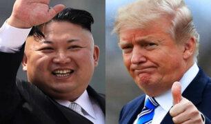 Singapur: Trump y Kim Jong Un inician cumbre con apretón de manos