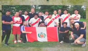 Francia: peruanos y franceses se enfrentan previo al partido del Mundial