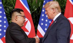 Singapur.: Donald Trump y Kim Jong-un firman acuerdo de desnuclearización