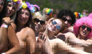Más de 2.500 mujeres se desnudan en Irlanda para ayudar a niños con cáncer