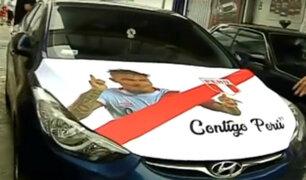Autos 'se ponen la camiseta' de la selección, a pocos días del Mundial