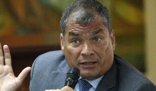 Ecuador: piden vincular a Rafael Correa en caso de secuestro de exasambleísta