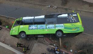 Cerro San Cristóbal: dictan ocho años de prisión para chofer de bus turístico