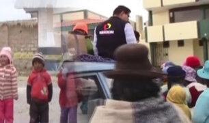 Arequipa: Panamericana Televisión realiza campaña contra el frío