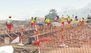 Emape inicia trabajos de construcción de nuevo malecón en Costa Verde