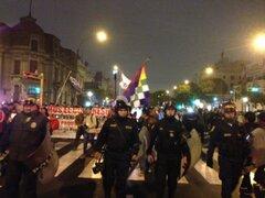 Centro de Lima: realizan tercera marcha pidiendo el cierre del Congreso
