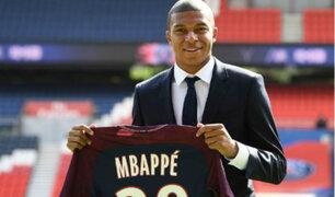 Alerta en Francia: Mbappé se retiró lesionado de entrenamiento
