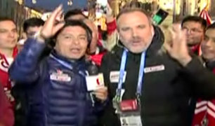 Moscú: toda la Fiesta Peruana en el epicentro del fútbol mundial