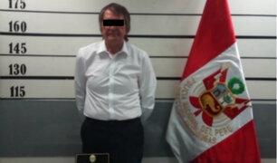 Capturan a ciudadano británico con más de 6 kilos de cocaína en aeropuerto Jorge Chávez