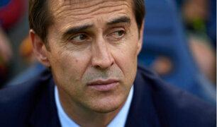Técnico de selección española fue despedido a un día del Mundial