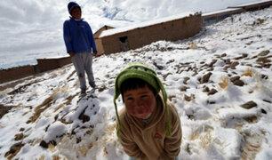 Estado declara en emergencia a algunas provincias por friaje