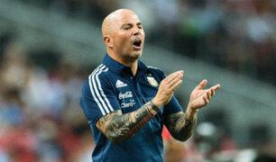 Jorge Sampaoli continuará como técnico de la selección Argentina