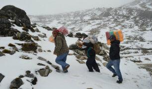 Puno: pobladores cuentan las dificultades que enfrentan por el intenso frío