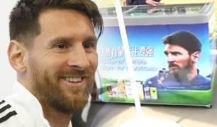 Rusia: se venden helados de Lionel Messi en la fiesta del fútbol