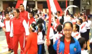 SMP: escolares celebran inicio del Mundial Rusia 2018