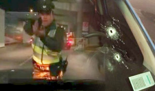 Chile: policía dispara a chofer en control de aeropuerto de Santiago