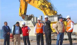Presidente Vizcarra participa en inicio de obras de construcción del Puerto de Pisco
