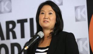 Keiko Fujimori niega ser una persona influyente en el Poder Judicial