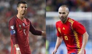 Así se vivió en Lima el partido Portugal vs España