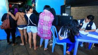 PNP rescata a 13 mujeres que eran obligadas a prostituirse en Puno