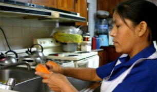 Congreso: aprueban mejoras laborales de los trabajadores domésticos
