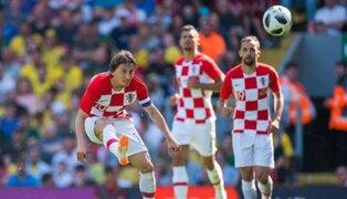 Mundial Rusia 2018: Croacia derrota a Nigeria y lidera el grupo D