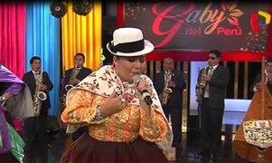 Gaby del Perú y su espectacular presentación en 'Porque hoy es Sábado con Andrés'