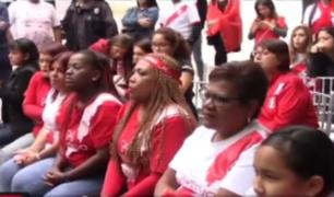 Madres de mundialistas se reunieron para ver el debut de Perú en el Mundial