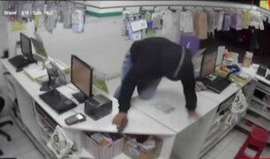 Roba boticas: delincuentes hacían de las suyas en conocida cadena de farmacias