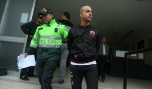 Piero Gaitán abandonó carceleta del PJ y fue trasladado al penal Castro Castro