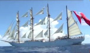 """""""Velas Latinoamérica"""": ocho majestuosos veleros se exhiben frente a nuestras costas"""