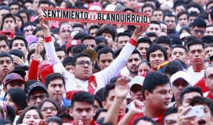 Estadio Nacional: hinchas vibraron con partido entre Perú y Dinamarca