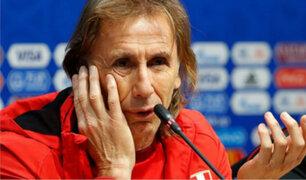 Gareca, Guerrero y Farfán se pronuncian tras derrota frente a Dinamarca
