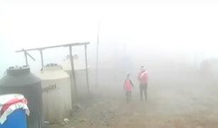 Friaje en Lima: Villa María del Triunfo sufre las bajas temperaturas