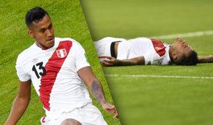 Renato Tapia podría ser una de las bajas para el Perú vs Francia