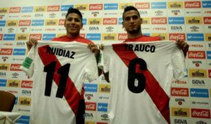 Ruidíaz y Trauco hablaron sobre el próximo partido de Perú en el Mundial