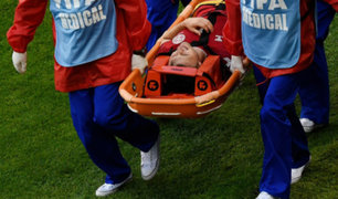 Farfán deja sin Mundial a Kvist tras fuerte choque