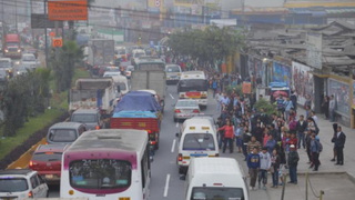 Según municipio de Lima solo el 20% de transportistas acata paralización