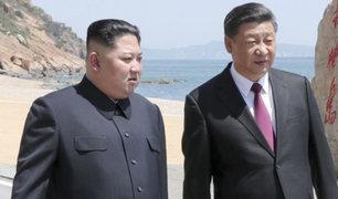 Kim Jong-un visita por tercera vez China